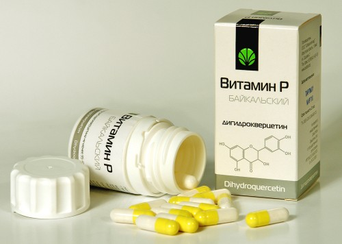 витамин Р - дигидрокверцетин